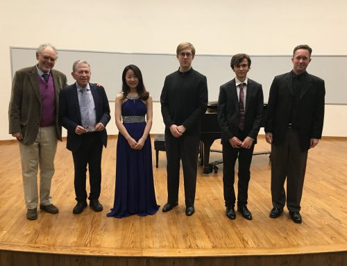 Simon Karakulidi Wins 2019 Ann  & Charles Eisemann International Young Artists Competition