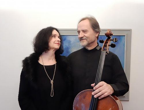 Park ICM Masters in Concert Presents Daniel Veis, Cello, and Helena Veisova, Piano, Saturday, February 13, 2021, 7:30 p.m.