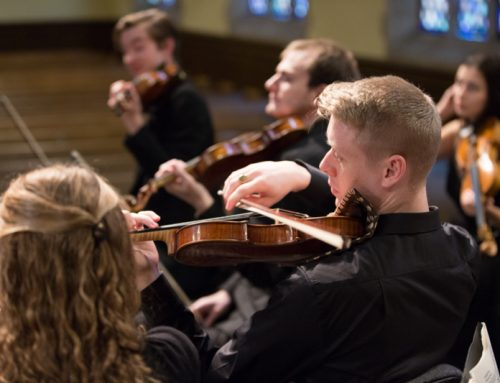 Press: Park ICM Orchestra to Hold Second Concert of Season